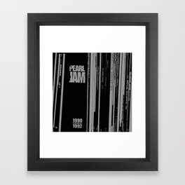 Records 3 Framed Art Print