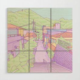 Another everyday place in Japan Wood Wall Art