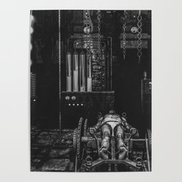 Frankenstein's Monster In The Lab Poster