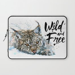 Lynx Wild and Free Laptop Sleeve