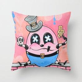 Dum-T Throw Pillow