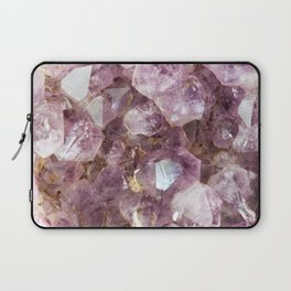 Amethyst and Gold Laptop Sleeve