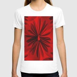 Red Origami Flowers #decor #society6 #buyart T-shirt