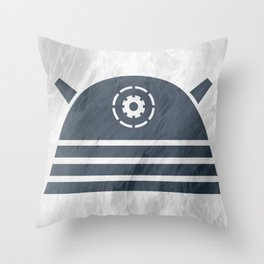 Dalekticons  Throw Pillow
