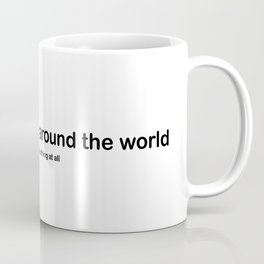 Mister Tonge around the world Coffee Mug