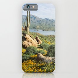 Arizona Blooms iPhone Case