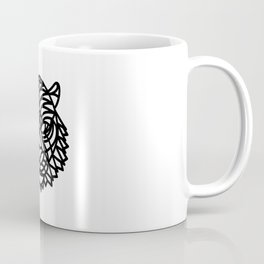 Tiger Head (Geometric) Coffee Mug