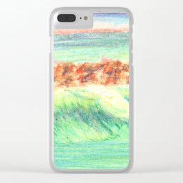 California in Crayon Clear iPhone Case