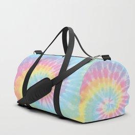 Pastel Tie Dye Duffle Bag