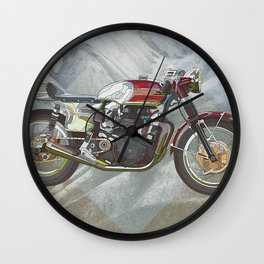 Geka-bike Wall Clock
