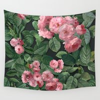 amelie Wall Tapestries featuring Amelie by Marta Li