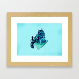 The Vermin: Raccoon 2 Framed Art Print
