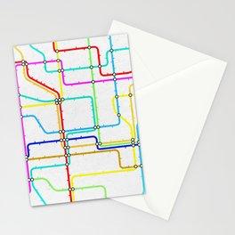 London Tube Underground Stationery Cards