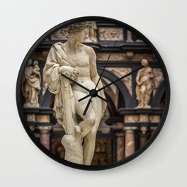 Apollo by Pietro Francavilla 1577 Wall Clock