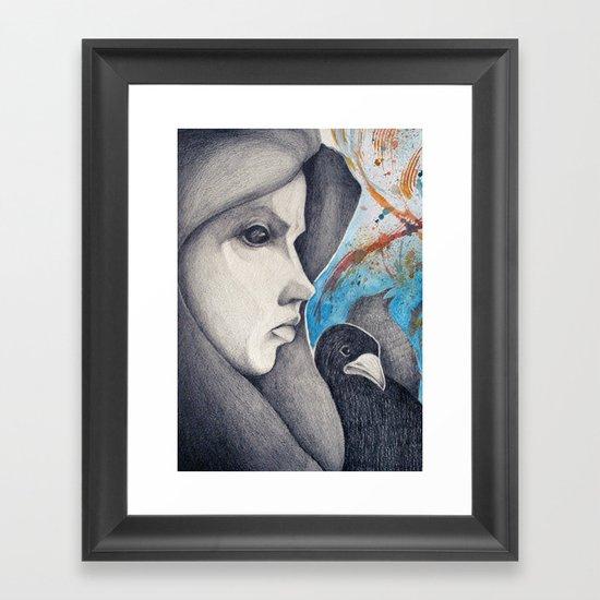 observers  Framed Art Print