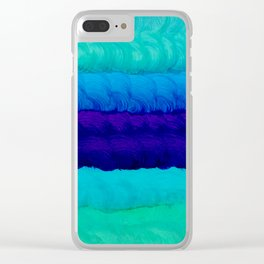 Ink 79 Clear iPhone Case