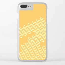 Desert Groove Clear iPhone Case