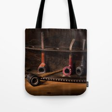 The Pipe Rack Tote Bag