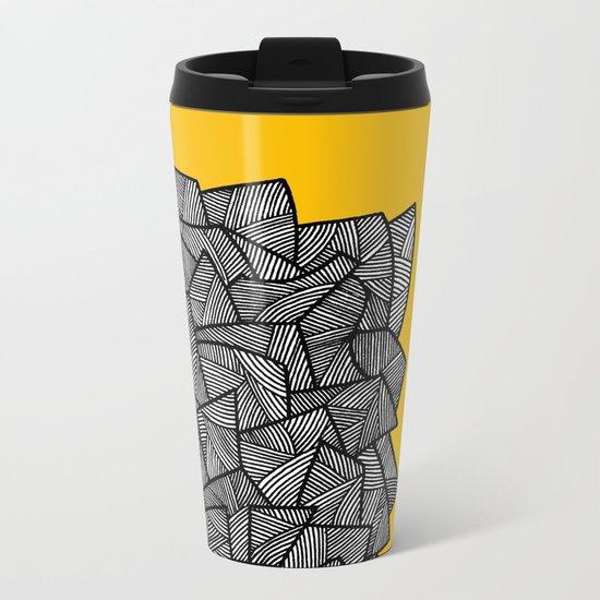 - burn - Metal Travel Mug