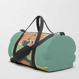 Father with Twins Duffle Bag