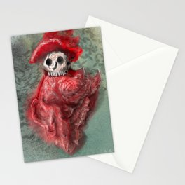 Thus does the Red Death rebuke your merriment!  Stationery Cards