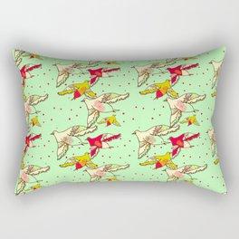 nid de coucou Rectangular Pillow