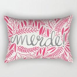 Pardon My French – Pink Rectangular Pillow