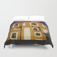florence Duvet Covers featuring From Florence by FranArt