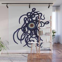 Evil Eye Halloween Creature Vector Wall Mural