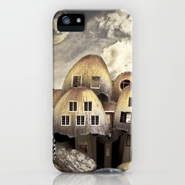 Mushrom Village iPhone Case