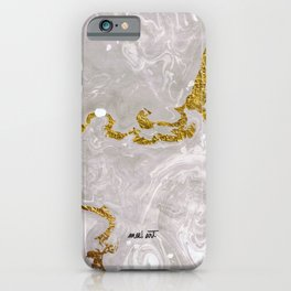 How the Ink Moves II iPhone Case