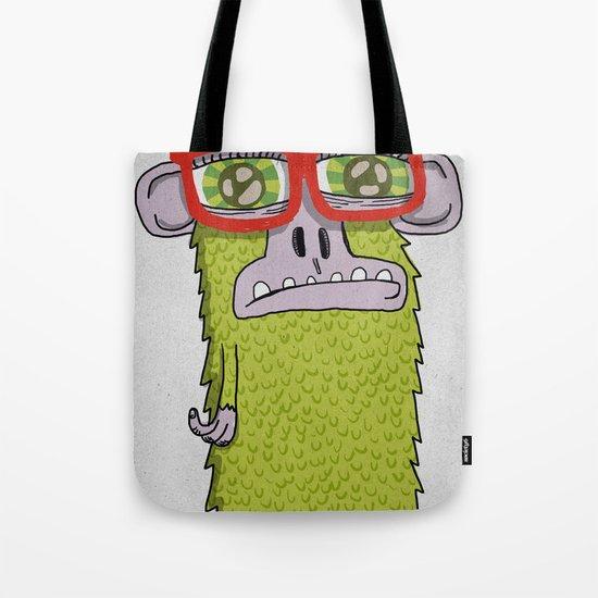005_monkey glasses Tote Bag