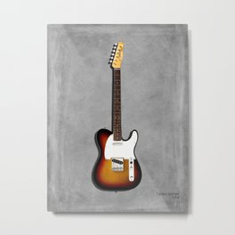 The 64 Telecaster Metal Print