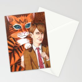 When Kitten Grew Up Stationery Cards