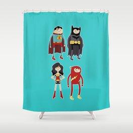 Adventure League Shower Curtain