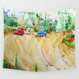 Blair Farm Race Track Wall Tapestry