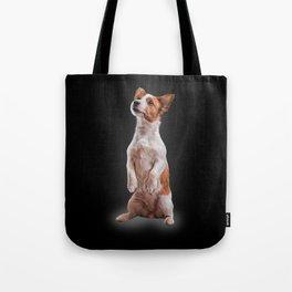 Jack Russell Terrier. Drawing Tote Bag