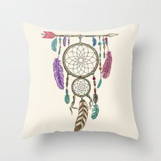 Big Dream Catcher Throw Pillow