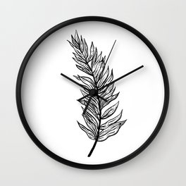 Ferns of a Feather Flock Together, III Wall Clock