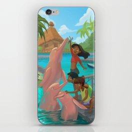 Dolphins fun! iPhone Skin