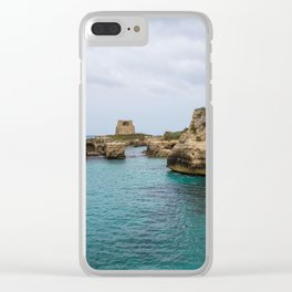 Roca vecchia Clear iPhone Case