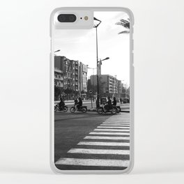 Morocco Rock Clear iPhone Case