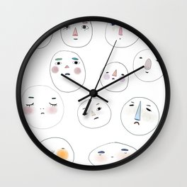 Small Gathering Wall Clock