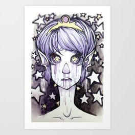 Starry Eyed Art Print
