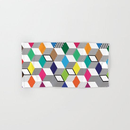 Cubes | Color Hand & Bath Towel