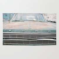 ford Area & Throw Rugs featuring (tom) Ford by gooddayallnight