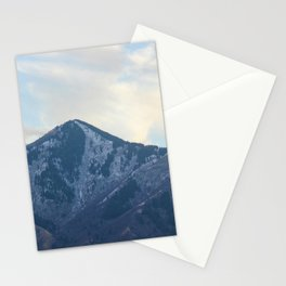 Blue Meets Blue in Sardine Canyon Stationery Cards