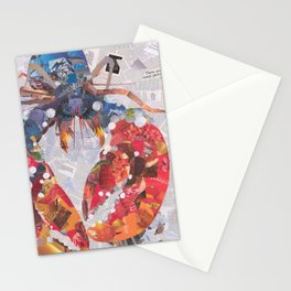 lucky lobster Stationery Cards