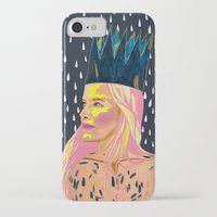 princess bubblegum iPhone & iPod Cases featuring Bubblegum Princess by AprilNicole