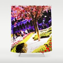 Intense and living colors. Shower Curtain